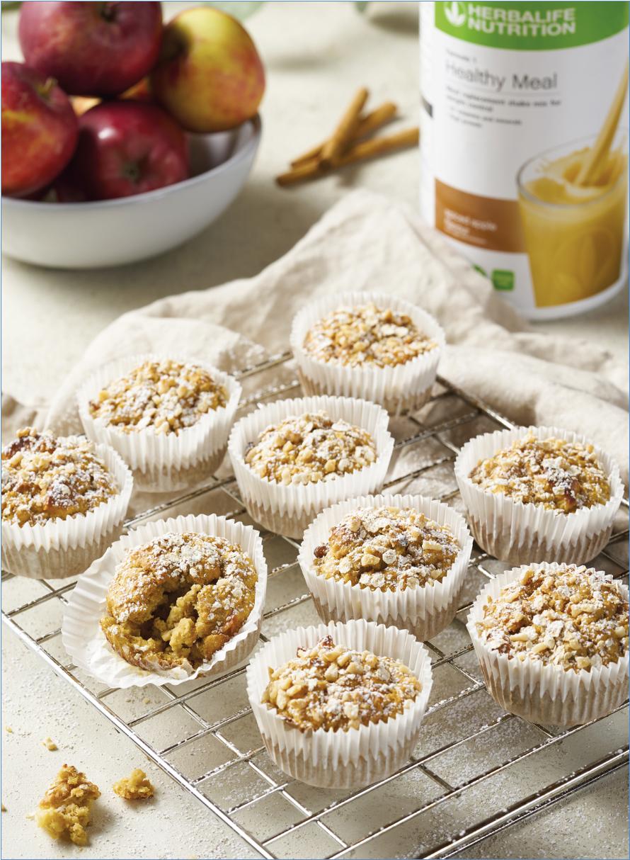 Muffin Proteico alla Mela Speziata