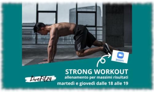 F24.Fit   Corso On-Line STRONG   Allenati GRATIS ogni volta che vuoi…